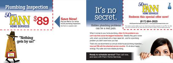 Plumbing, HVAC & Electrical Postcards - IMS Advertising | IMS